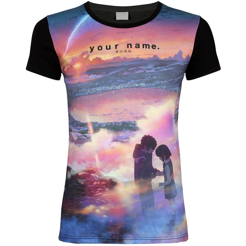 Your Name |Tramonto Sublimated Fitted T-Shirt