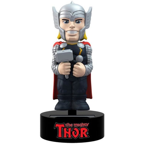 Marvel Comics Thor | Solar Powered 6 Inch Body Knocker