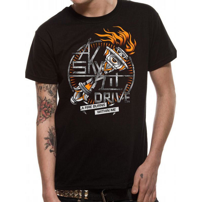 Buy A Skylit Drive (A Fire Burns Within Me) T-shirt online at Loudshop.com