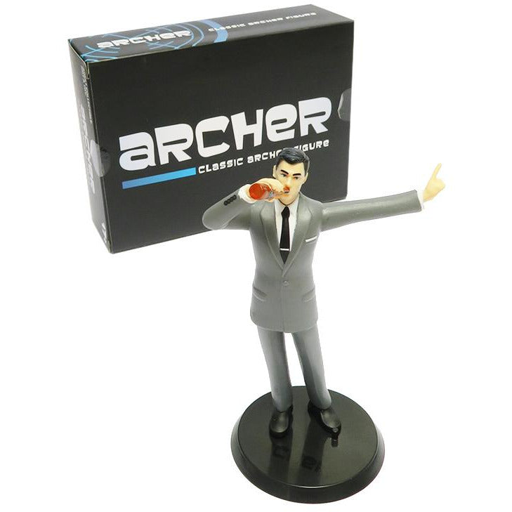 Archer |Figure Drinking Beer Collectable Figure
