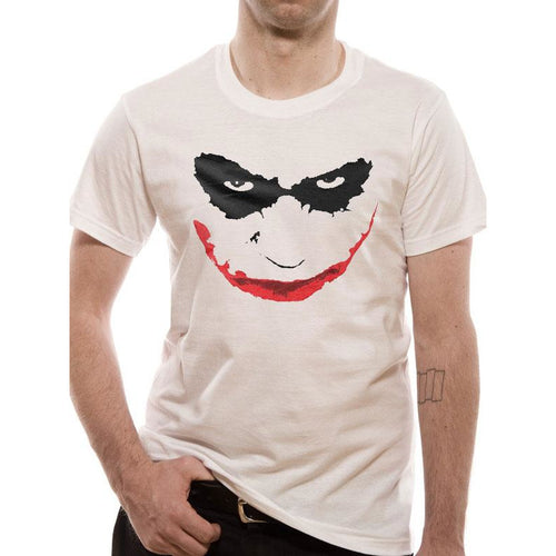 BATMAN: THE DARK KNIGHT | JOKER SMILE OUTLINE  Unisex T-Shirt