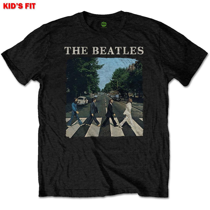 Beatles | Packaged Abbey Road & Logo | Youth Unisex T-Shirt