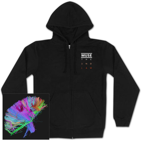 Muse | The 2Nd Law Black Hoodie