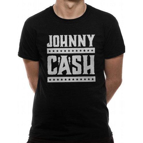 Johnny Cash - Simple Logo T-shirt