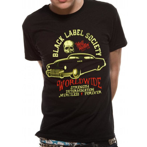 Buy Black Label Society (Hell Riding Hot Rod) T-shirt online at Loudshop.com