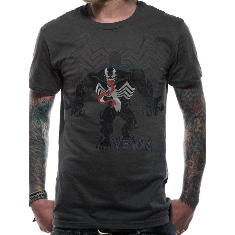 Spider-Man | Venom and Logo T-Shirt