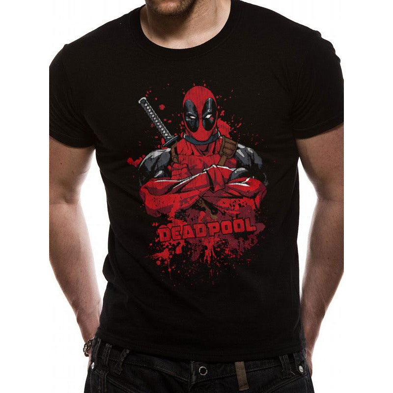Deadpool - Pose Splash T-Shirt