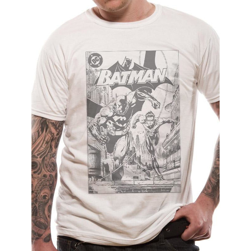 Buy Batman (B&W Comic) T-shirt online at Loudshop.com