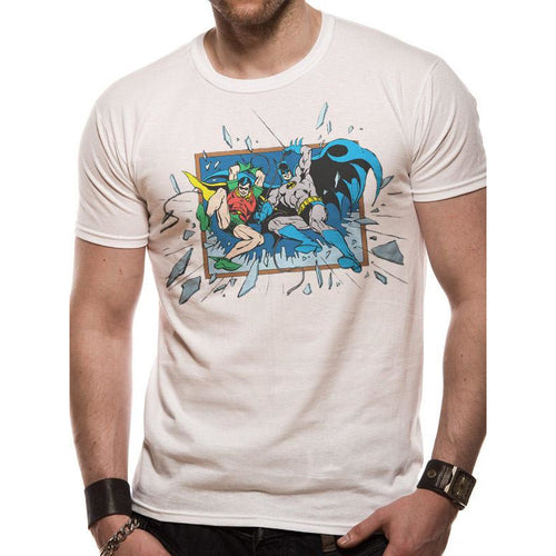 Buy Batman (Window Smash) T-shirt online at Loudshop.com