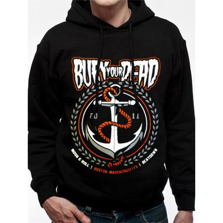Buy Bury Your Dead (Anchor) Hoodie online at Loudshop.com