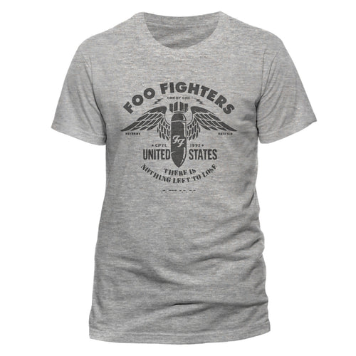 Foo Fighters - Stencil Grey T-shirt