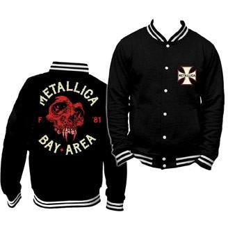 Buy Metallica (Bay Area) Varsity Jacket online at Loudshop.com