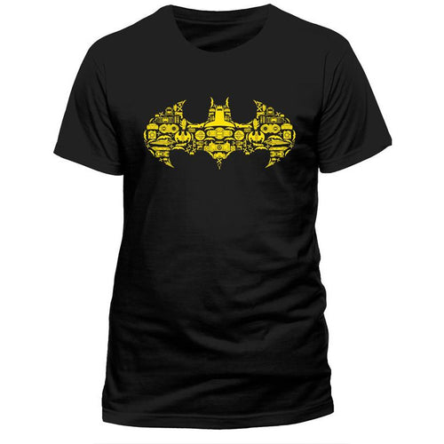 Justice League | Batman Shapes T-Shirt