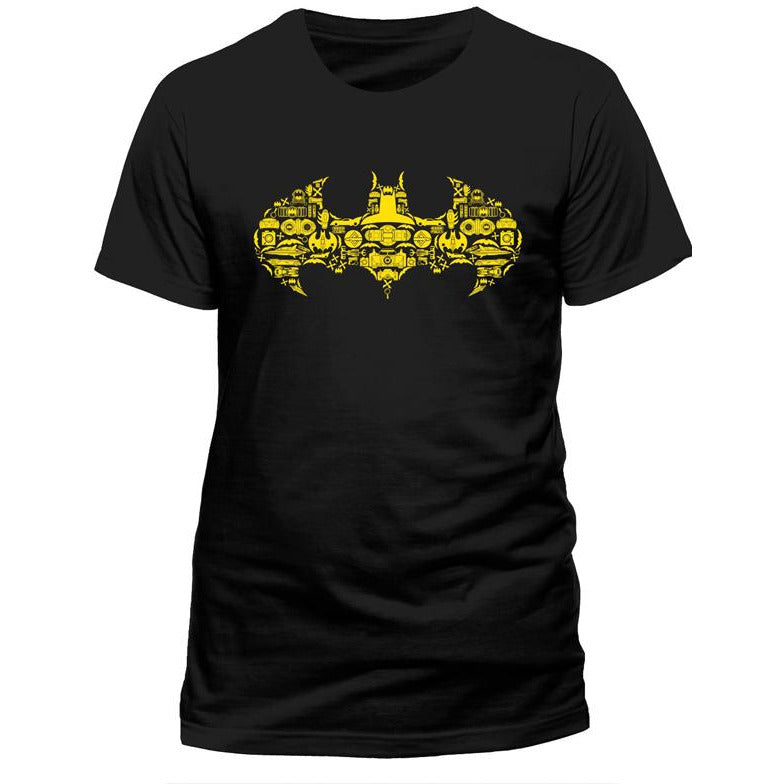 Justice League - Batman Shapes T-shirt