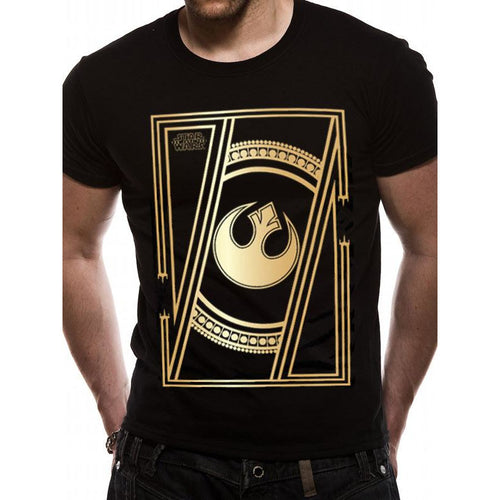 Star Wars 8 - Rebel Badge T-shirt