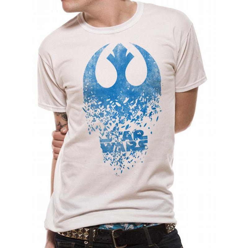 Star Wars 8 - Rebel Badge Explosion T-shirt