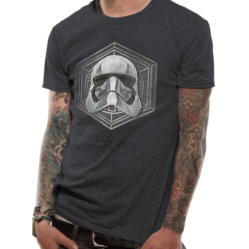 Star Wars 8 - Captain Phasma Badge T-shirt