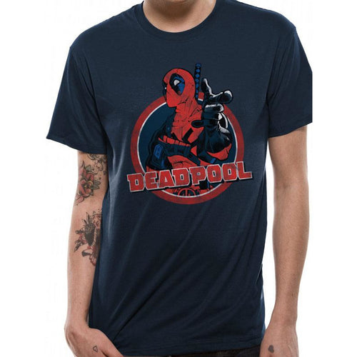 Deadpool Logo Point T-Shirt