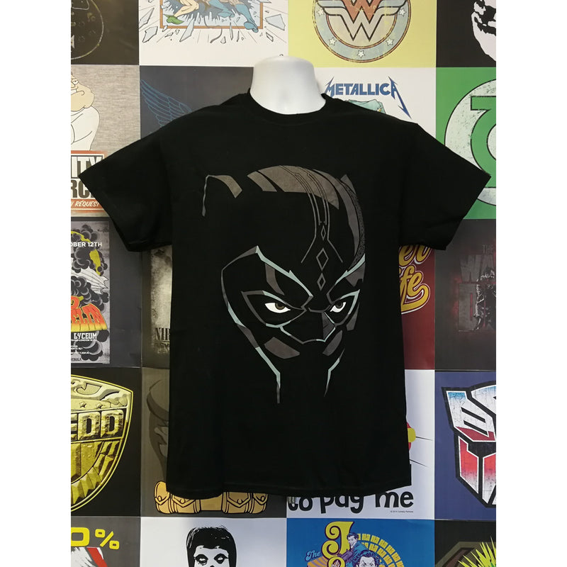 Black Panther Comic Face T-shirt