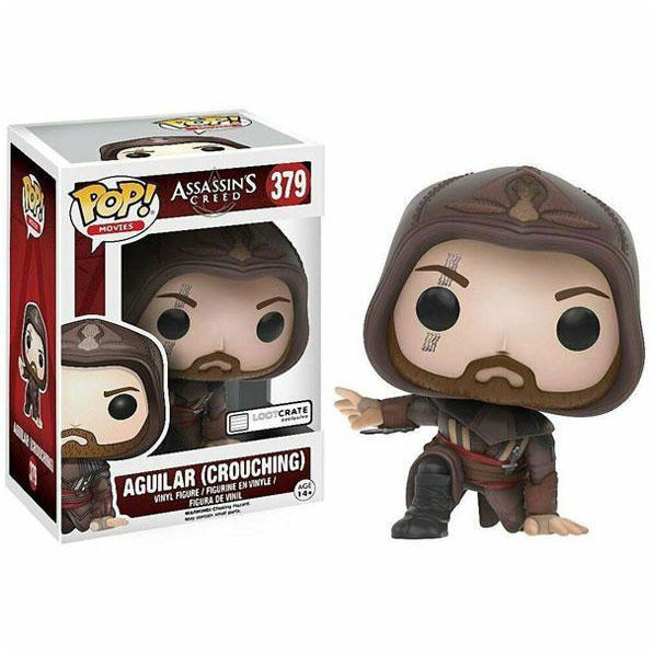 Funko Pop! Assassin's Creed Movie | Aguilar Crouching #379 Vinyl Figure