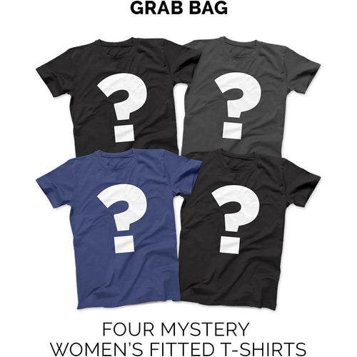 Loudshop (Sale 4 Fitted Womens T-shirt) Grab Bag