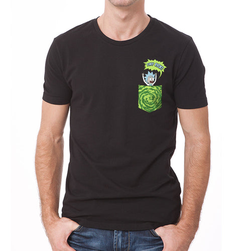 Rick And Morty | Tiny Pocket Rick T-Shirt