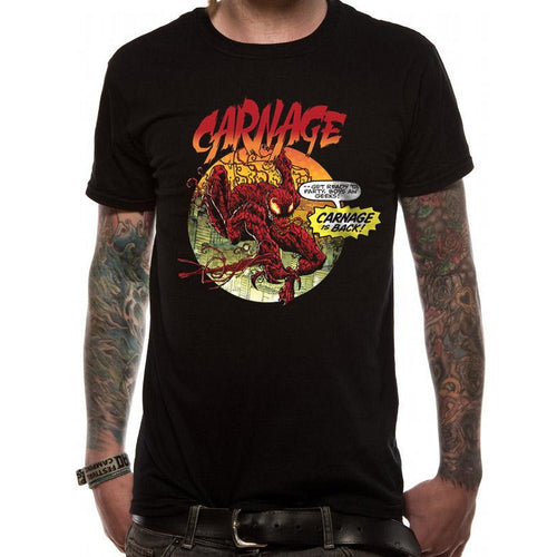 Marvel Now - Carnage Is Back Unisex T-shirt