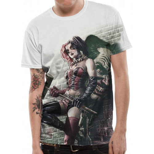 Batman: Arkham Knight - Harley Quinn Wall Art Sublimated T-shirt