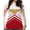 Wonder Woman | Cheerleader Logo Sublimated Fitted T-Shirt