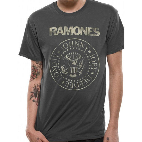 Ramones | Distressed Crest T-Shirt
