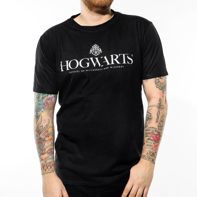 Harry Potter | Hogwarts Pride Logo T-Shirt