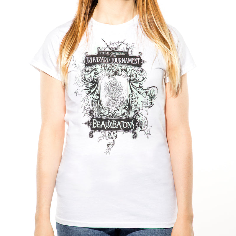 Harry Potter | Beauxbatons Ladies Fitted T-Shirt