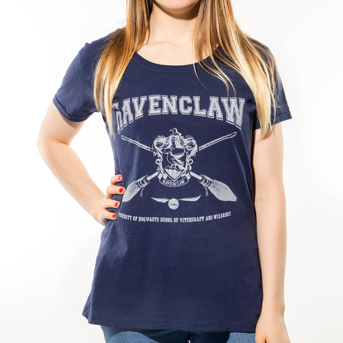 Harry Potter - Collegiate Ravenclaw Fitted T-Shirt