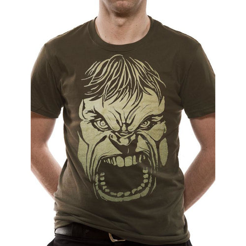 Incredible Hulk | Rage Face T-shirt