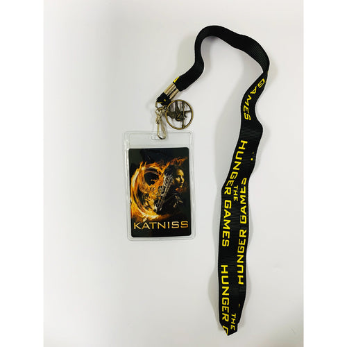 The Hunger Games: Girl On Fire | Katniss With Pin Lanyard