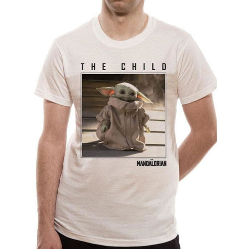 The Mandalorian | The Child Square Photo T-Shirt