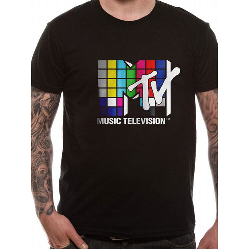 MTV - Coloured Logo T-shirt