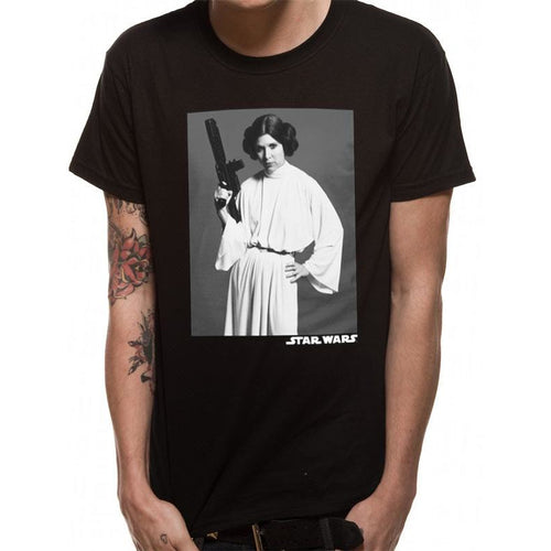 Star Wars (Leia Classic Portrait) T-shirt