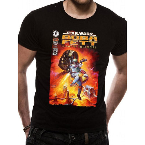 Star Wars - Fett Enemy Comic Unisex T-shirt