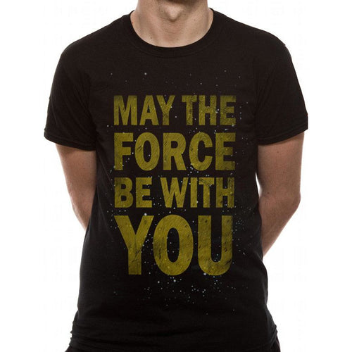 Star Wars Force Text T-shirt