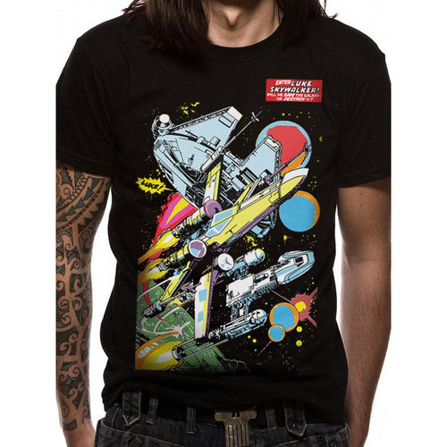 Star Wars | Comic Ships T-Shirt