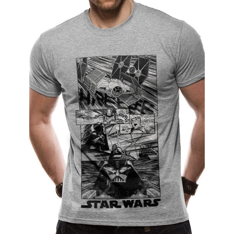 Star Wars - New Hope Manga T-shirt