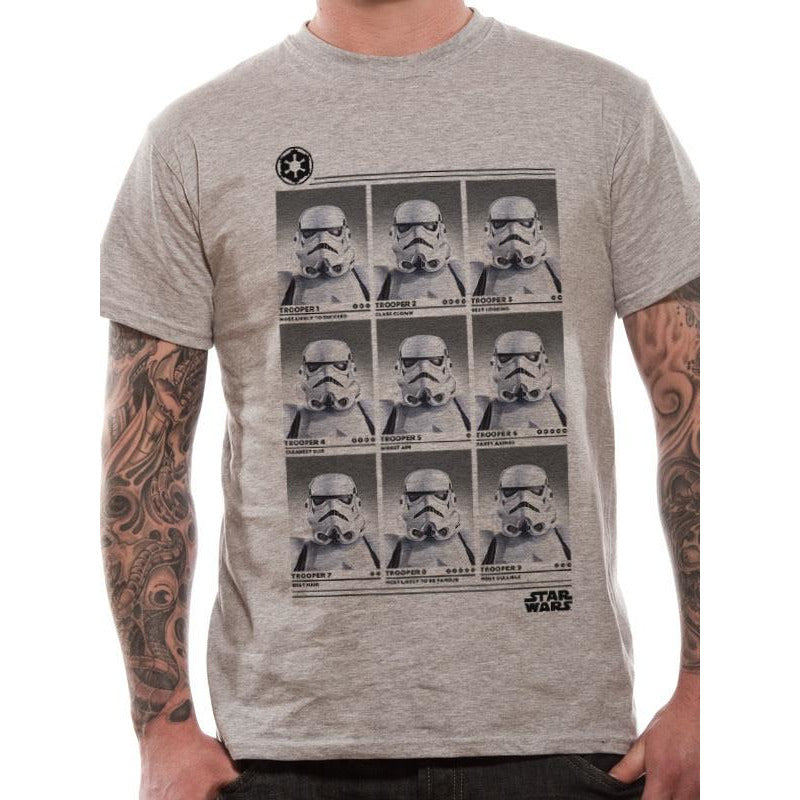 Star Wars - Trooper Yearbook T-shirt