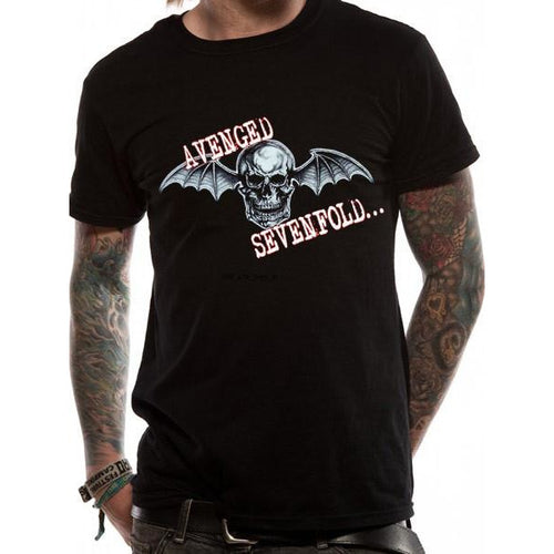 Buy Avenged Sevenfold (Bat Skull Glow) T-shirt online at Loudshop.com