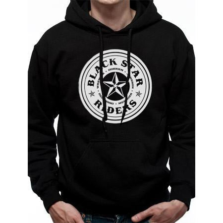 Buy Black Star Riders (Circle) Hoodie online at Loudshop.com