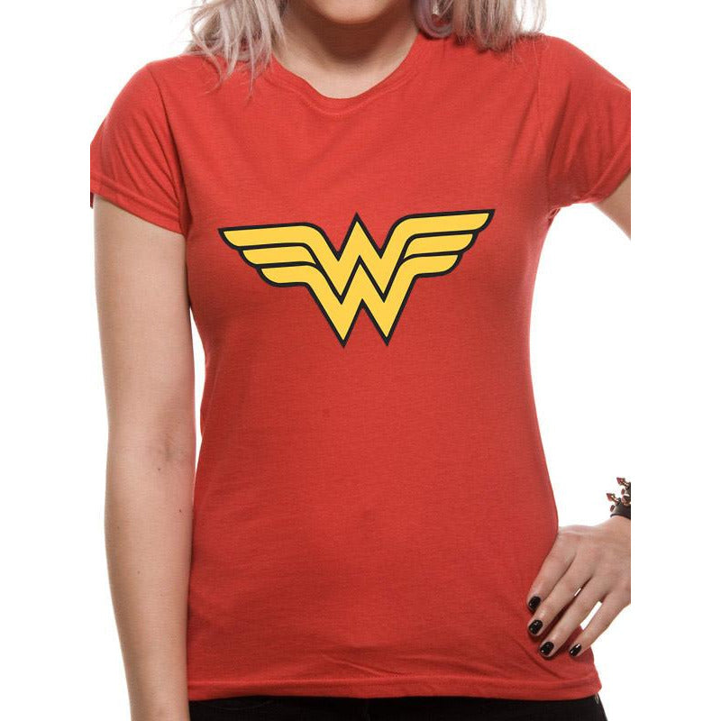 Buy wonder woman logo t shirt at for only for Where to order shirts with logos