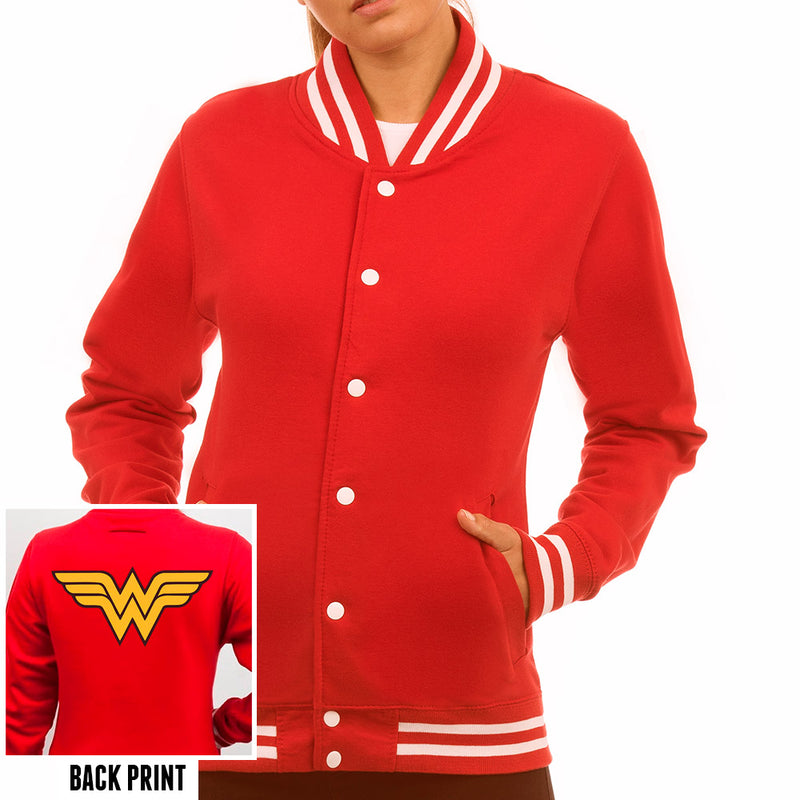 Wonder Woman | Logo College Jacket