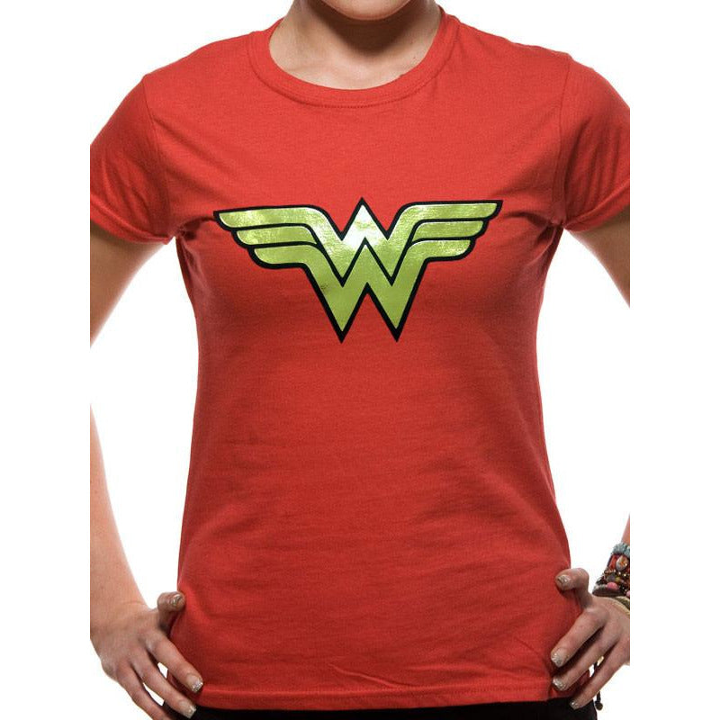 Buy Wonder Woman (Foil Logo) T-shirt online at Loudshop.com