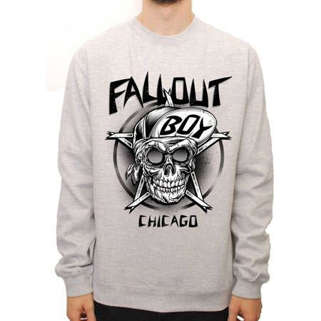 Buy Fall Out Boy (Skull) Crew Neck online at Loudshop.com