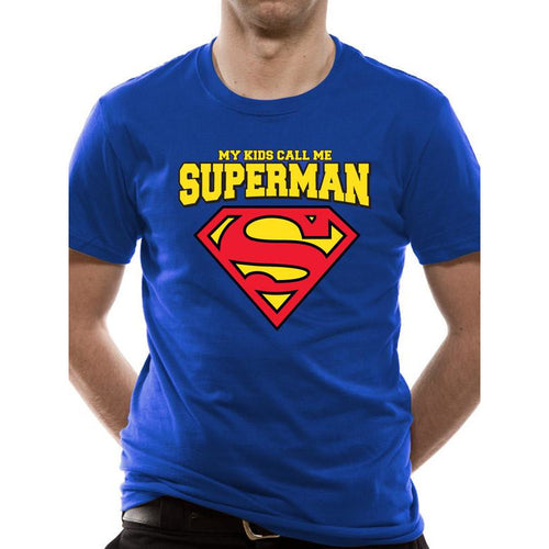 Buy Superman (My Kids Call Me) T-shirt online at Loudshop.com